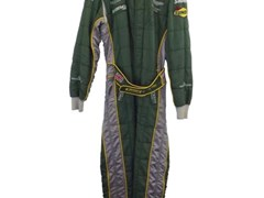 Navigate to Aston Martin racing overalls