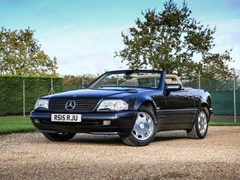 Navigate to Lot 220 - 1997 Mercedes-Benz SL 320 Roadster