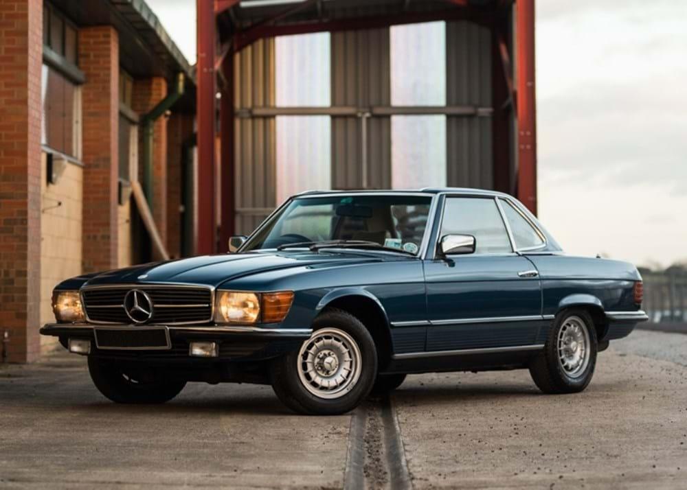 Ref 134 1976 Mercedes-Benz 350SL