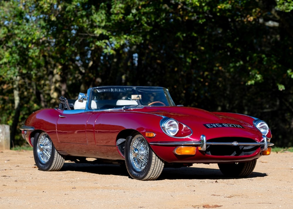 Lot 324 - 1970 Jaguar E-Type Series II Roadster (4.2 litre)  *WITHDRAWN*