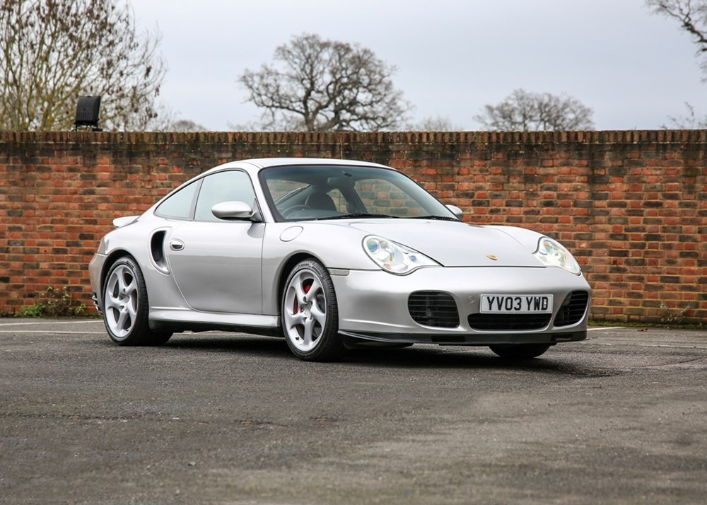 Lot 125 - 2003 Porsche 911 / 996 Turbo