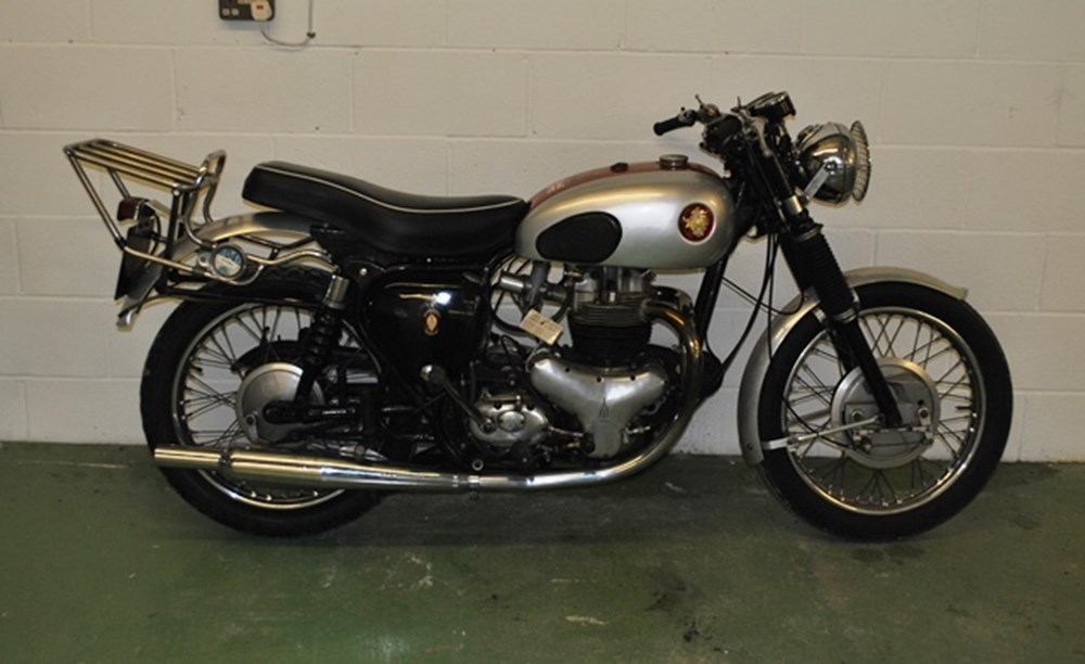 Lot 373 - 1960 BSA A10 Golden Flash (650cc) 'Road Rocket' Special