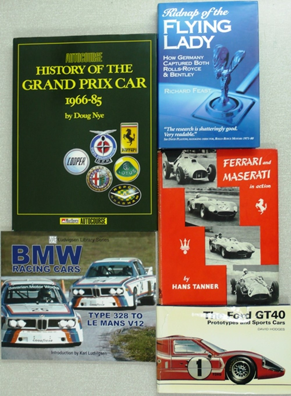 Lot 115 - Motorsport books