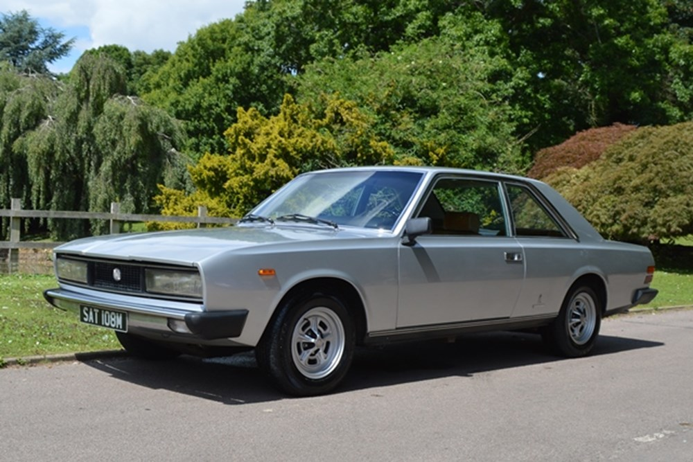 Lot 334 - 1974 Fiat 130 Coupé