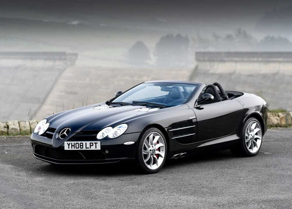 Lot 209 - 2008 Mercedes-Benz SLR McLaren Roadster