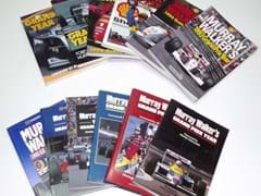 Navigate to Murray Walker Grand Prix Yearbooks