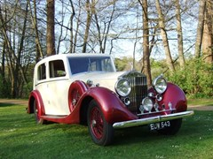 Navigate to Lot 247 - 1938 Rolls-Royce 25/30 Saloon