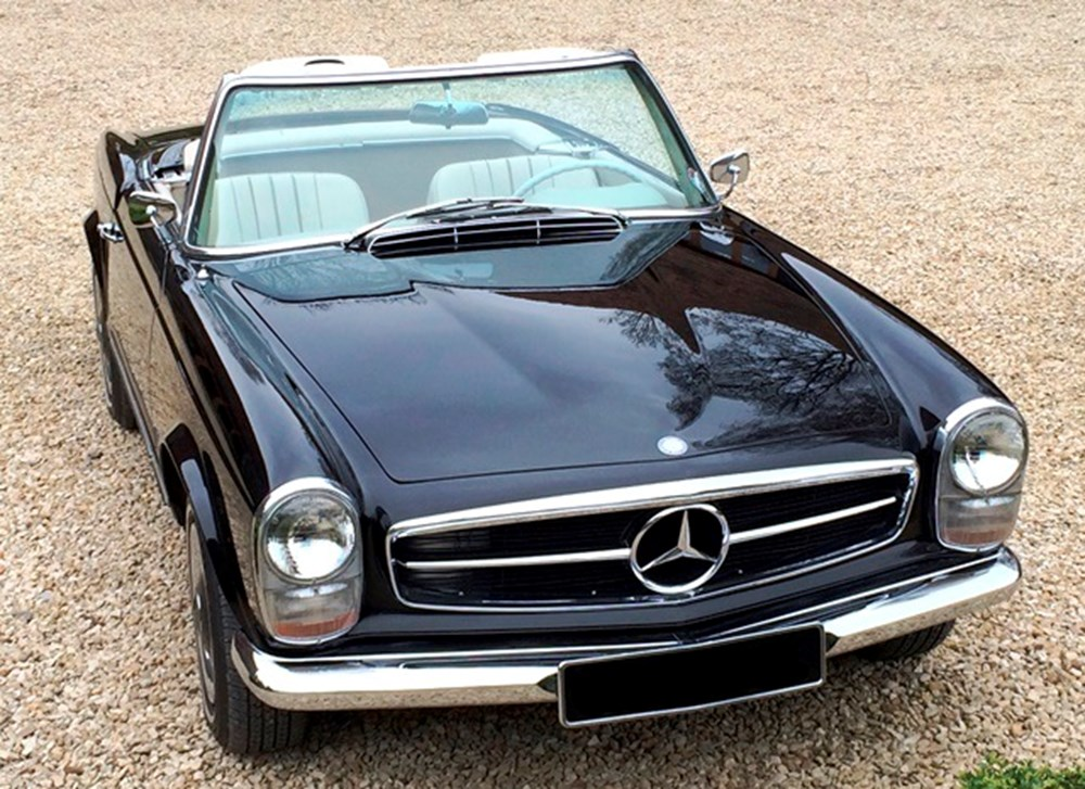 Ref 79 1966 Mercedes Benz 230 Sl Pagoda