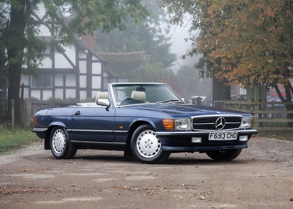 Lot 171 - 1989 Mercedes-Benz 300 SL Roadster