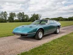 Navigate to Lot 163 - 1971 Maserati Indy 2+2 Coupé by Carrozzeria Vignale