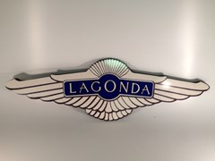 Navigate to Lagonda garage wall plaque