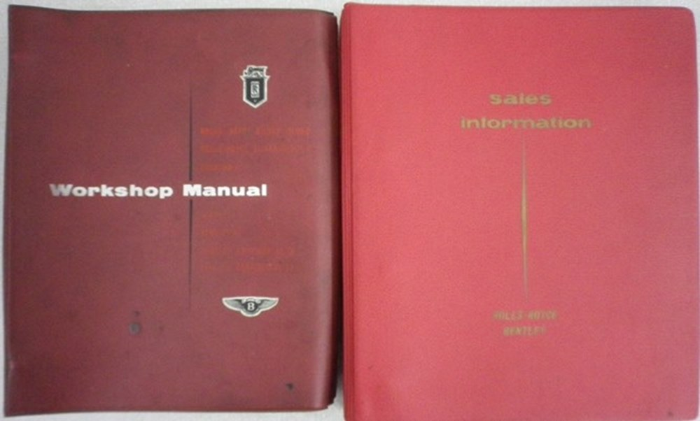 Lot 13 - Rolls-Royce manuals.