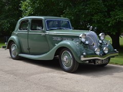 Navigate to Lot 299 - 1937 Triumph Dolomite Short Chassis Saloon