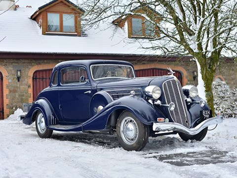 Ref 54 1935 Hudson Deluxe Eight Rumble Seat Coupe
