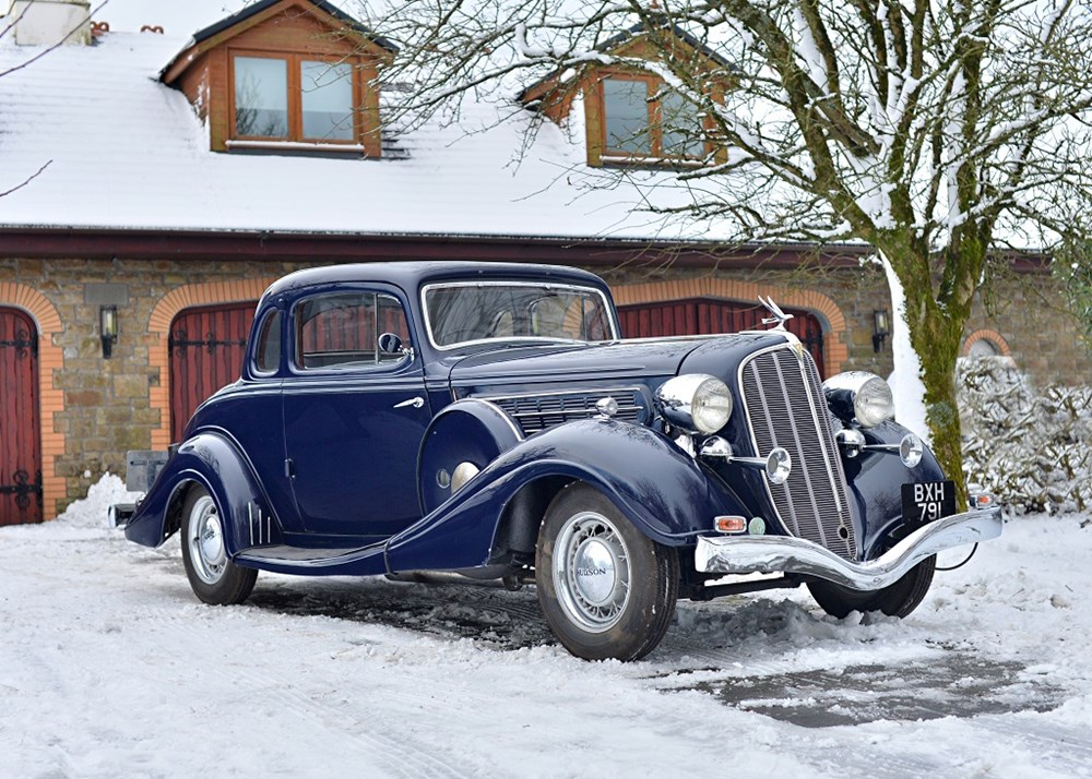 Lot 138 - 1935 Hudson Deluxe Eight Rumble Seat Coupé