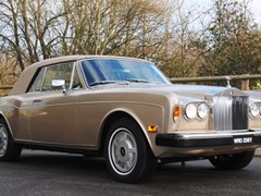 Navigate to Lot 249 - 1983 Rolls-Royce Corniche Convertible