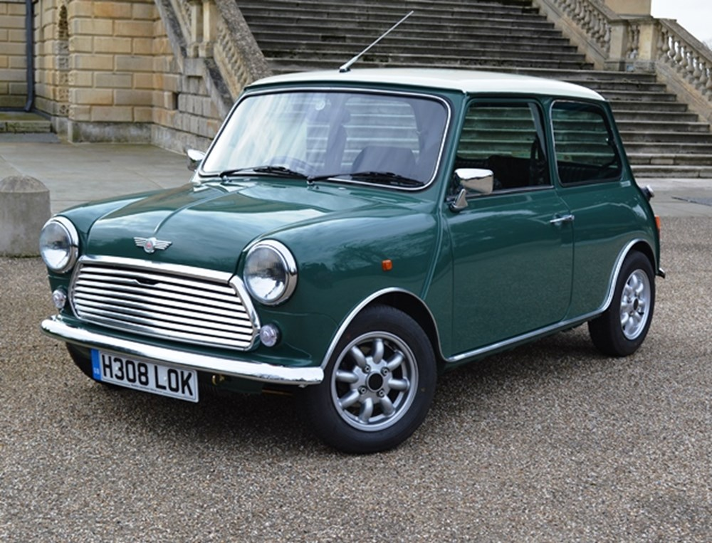 Lot 255 - 1990 Rover Mini Cooper 1.3i