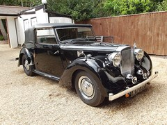 Navigate to Lot 289 - 1948 Alvis TA14 Three Position Drophead Coupé by Carbodies
