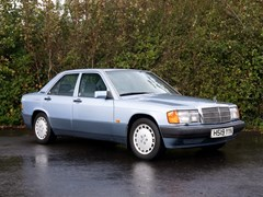 Navigate to Lot 108 - 1991 Mercedes-Benz 190 E (2.6 litre)