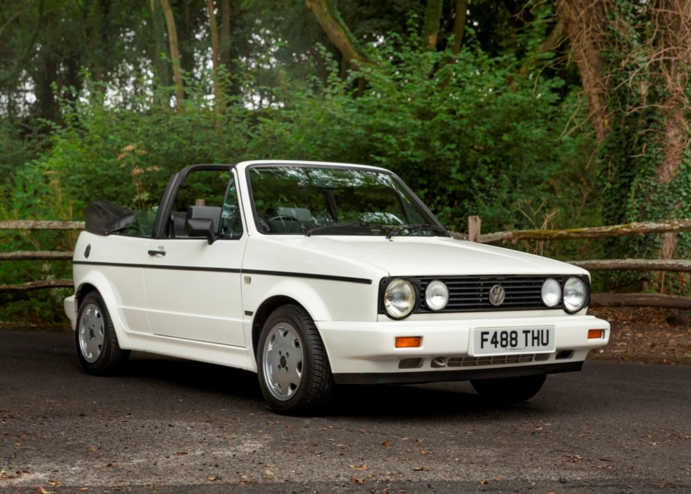 Lot 113 - 1989 Volkswagen Golf Cabriolet