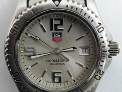 Navigate to A Tag Heuer wristwatch.