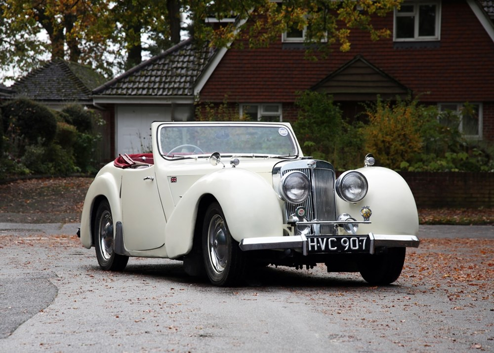 Lot 115 - 1949 Triumph 2000 Roadster