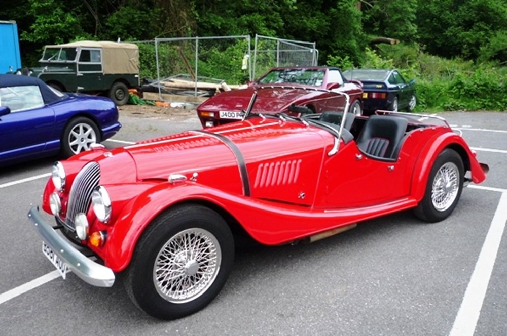 Lot 386 - 1985 Morgan 4/4 Roadster