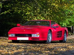 Navigate to Lot 251 - 1987 Ferrari Testarossa