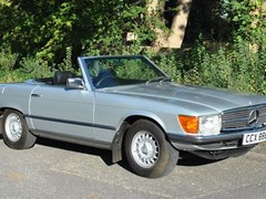 Navigate to Lot 215 - 1980 Mercedes-Benz 450SL Roadster