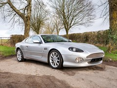 Navigate to Lot 206 - 2002 Aston Martin DB7 V12 Vantage