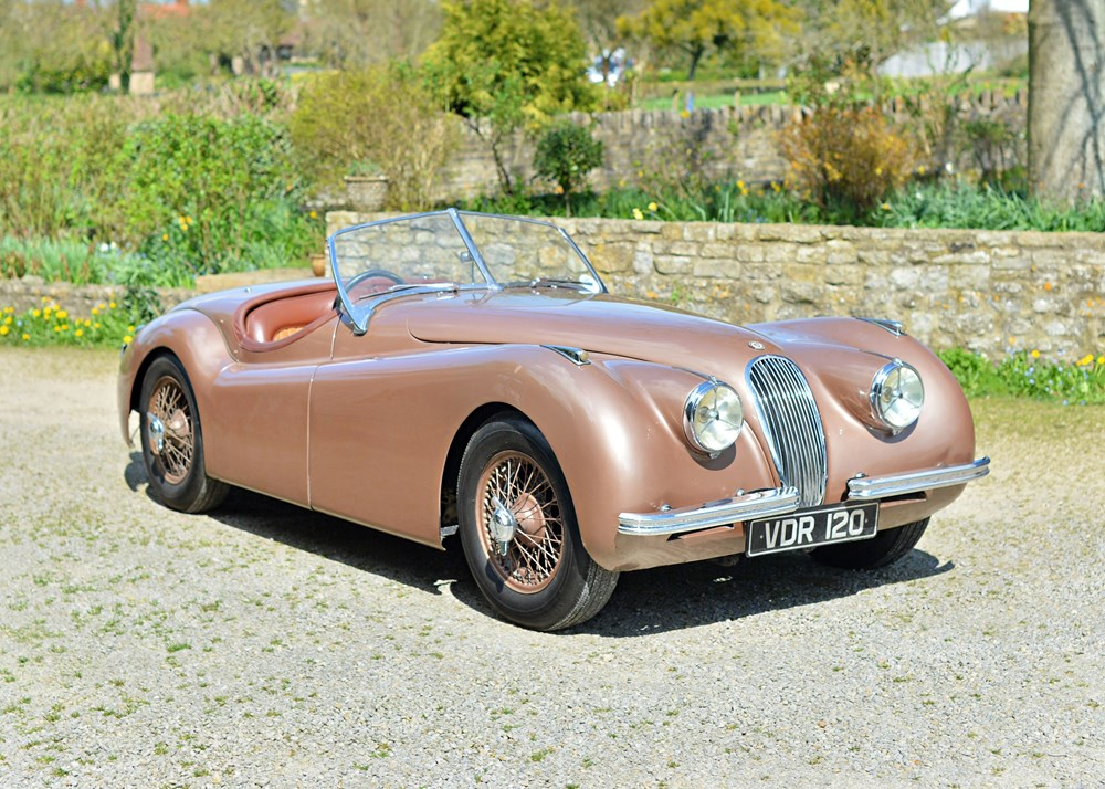 Lot 158 - 1951 Jaguar XK120 OTS Roadster