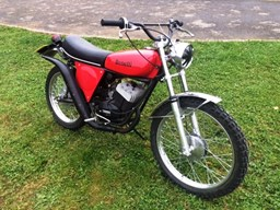 REF 99 1976 Benelli Trials Bike
