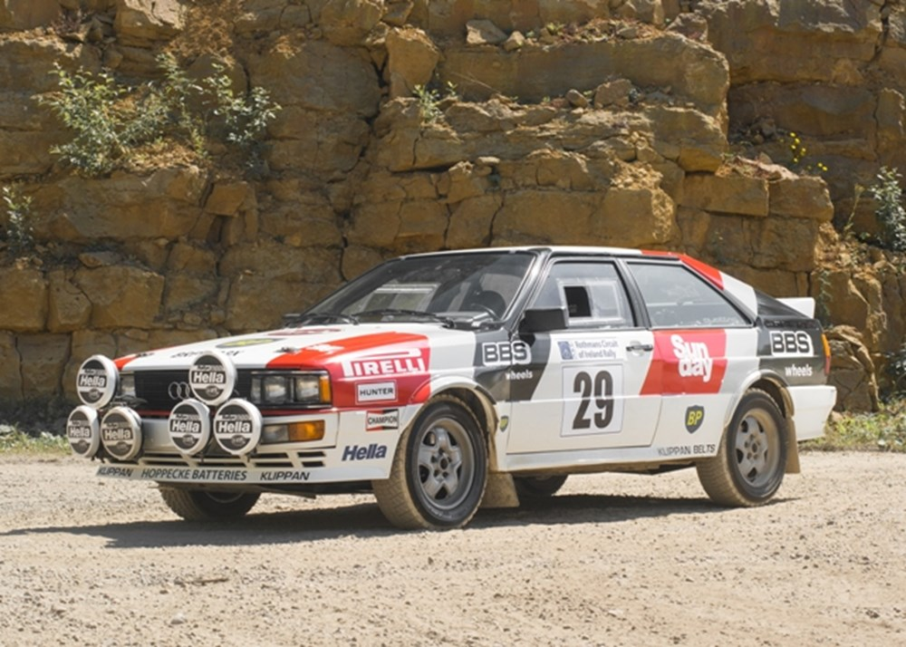 Lot 196 - 1981 Audi Quattro LWB Competition