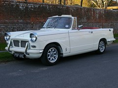 Navigate to Lot 206 - 1967 Triumph Herald Convertible