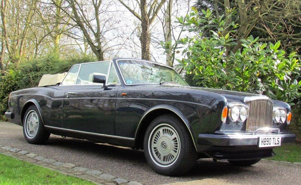 Lot 240 - 1990 Bentley Continental Convertible Mk. IV