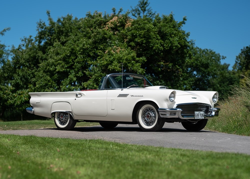 Lot 166 - 1957 Ford Thunderbird Convertible