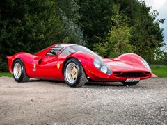 Navigate to Lot 196 - 1992 Ferrari 330 P4 Recreation by Noble