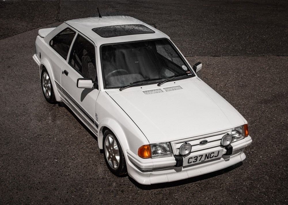 Lot 133 - 1986 Ford Escort RS Turbo Series I