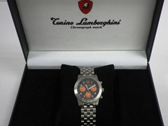Navigate to Lamborghini chronograph men's wristwatch