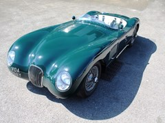 Navigate to Lot 254 - 1951 Jaguar C-Type Recreation by Nostalgia *WITHDRAWN*