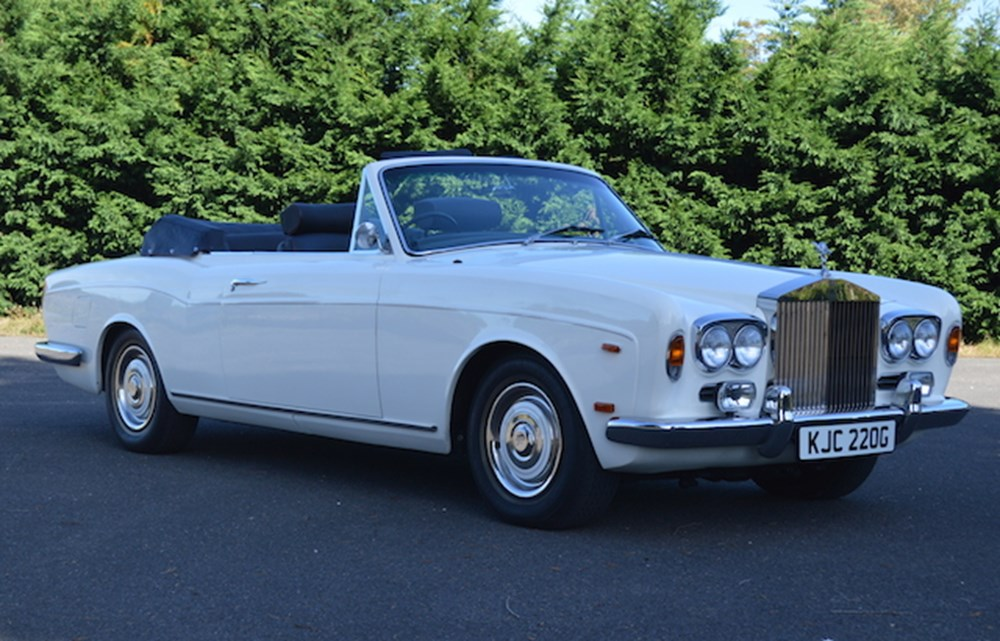 Lot 175 - 1969  Rolls-Royce Drophead Coupé by Mulliner Park Ward Ex-Gordon Mills
