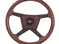 Navigate to Wood & Picket wood rimmed steering wheel