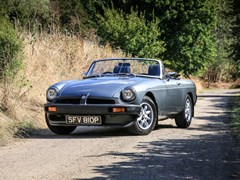 Navigate to Lot 176 - 1976 MG B Roadster