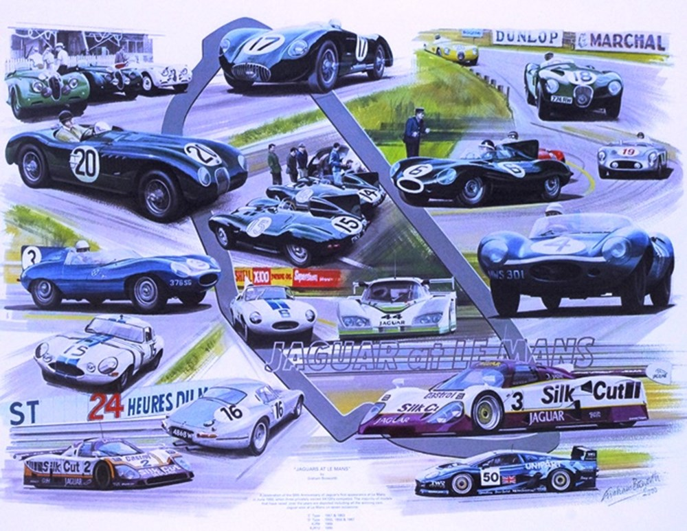 Lot 30 - 'Jaguar at Le Mans'