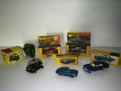 Navigate to Five die-cast model cars