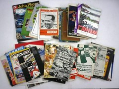 Navigate to 75 Motor Racing Programmes