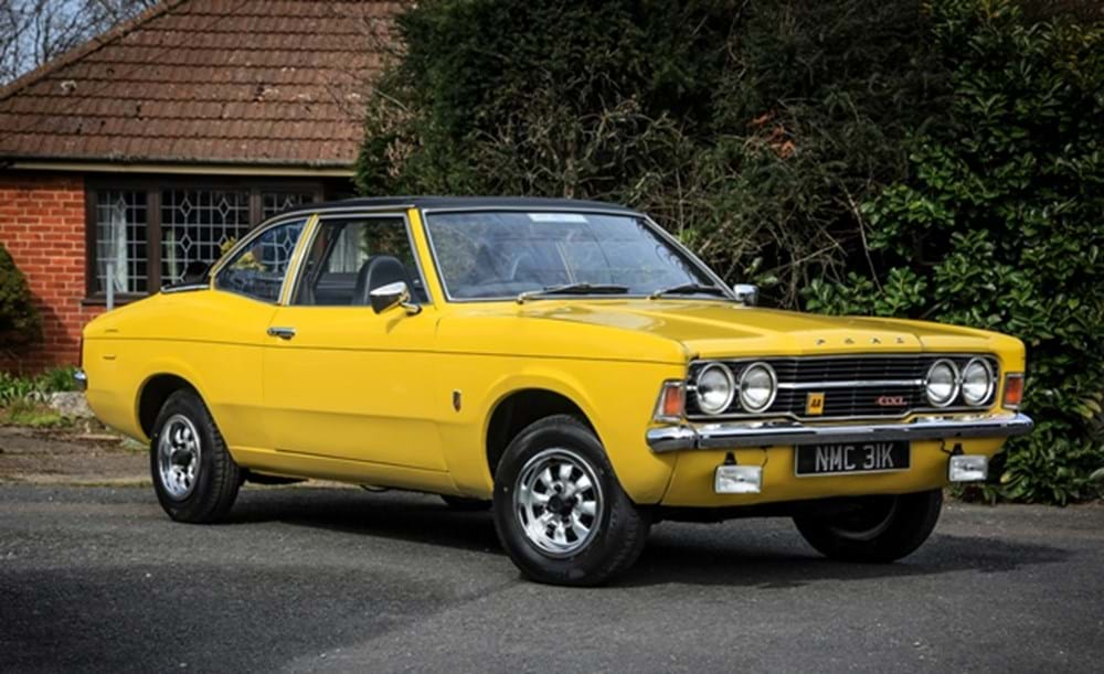 Lot 232 - 1972 Ford Cortina GXL Convertible by Crayford