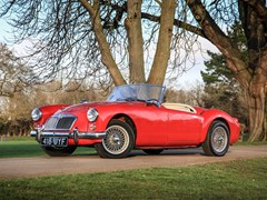 Navigate to  1960 MG A Roadster