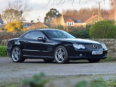 Navigate to Lot 140 - 2002 Mercedes-Benz SL 55 AMG Roadster