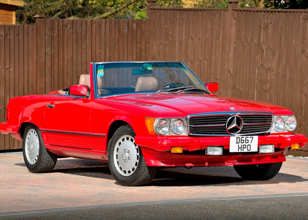 Lot 234 - 1987 Mercedes-Benz 560 SL Roadster